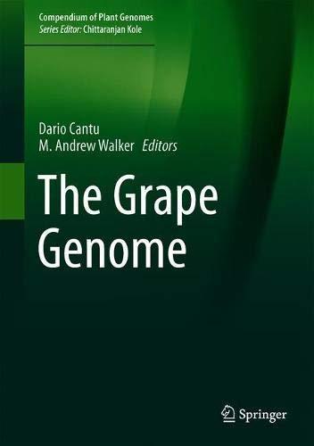 The Grape Genome (Compendium of Plant Genomes)