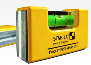 Stabila 11927 Pocket Pro Quick Check ( 11901 Pocket Pro Plus 30327 Tape Measure 27') Level