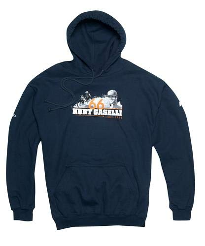 KTM KCF Kurt Caselli Foundation Dakar Hoodie 2X-LARGE, BLUE, ()