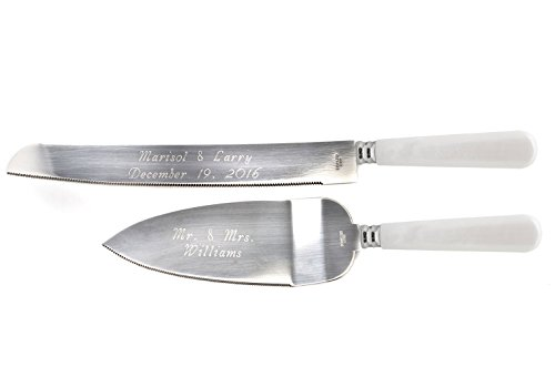 Engraved Set Knife - 8