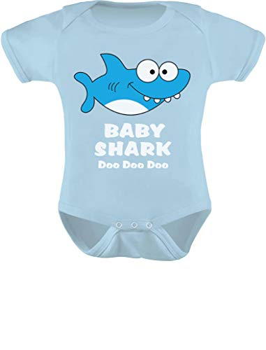 Tstars – Baby Shark Song Doo doo doo Family Dance for Boy Girl Baby Bodysuit