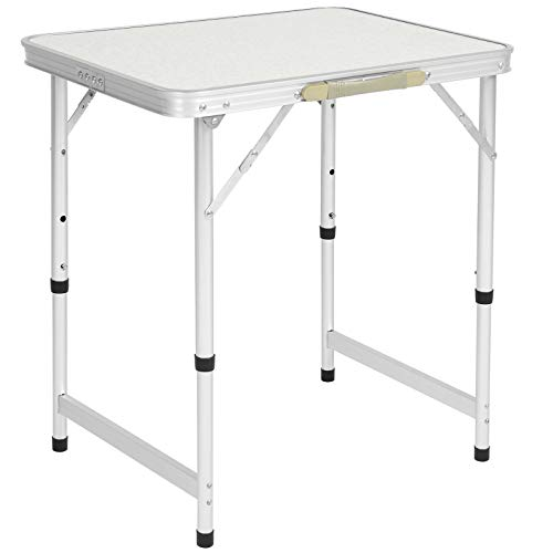 Best Choice Products Aluminum Camping Picnic Folding Table Portable Outdoor, 23.5 x 17.5