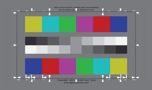 Dgk Digital Kolor Pro 169 Chart Set Of 2 Large Color Import It All