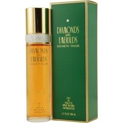 - Elizabeth Taylor Diamonds and Emeralds Eau De Toilette Spray, 3.3 Ounce