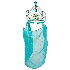 Disney Store Princess Jasmine Tiara Crown with Veil Halloween Costume Accessory (Princess Jasmine Tiara)