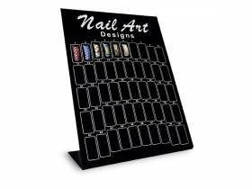 Nailart Designer Display - Präsentationsständer schwarz