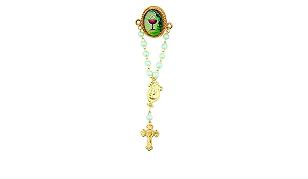 Inc Chalice with Host 7//8 Inch First Communion Rosary Lapel Pin Religious Gifts by San Francis Imports