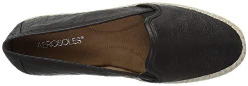 Aerosoles Lets Black Drive Women's Leather Loafer qqUZFwC