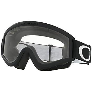 e96bc19604 Amazon.com   Oakley L-Frame MX Goggles (Matte Black Frame Clear Lens ...