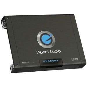 Planet Audio Ac1600.4 Anarchy Mosfet Amplifier (4-channel; 1600w Max; 600w X 2 @ 4_ Bridged; 300w