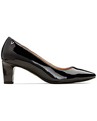 Vionic Women's Madison Mia Pump Black Patent 5 M US