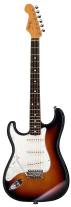 Fender Japan ST62/LH 3TS Sunburst Stratocaster '62 style Japanese Electric Guitar Lefty Left handed (Japan Import)