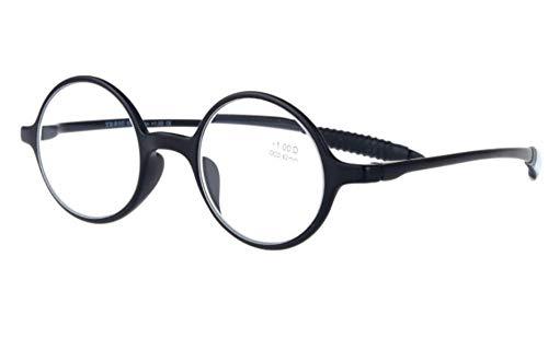 et Lunettes de de KOMNY lunettes Blu rond hommes vieilles lecture de lecture B HD lecture lumière de anti femme mode cadre élégantes ray léger ultra bleues rétro A150 Degrees Lunettes confortables femmes lunettes wqXBwH