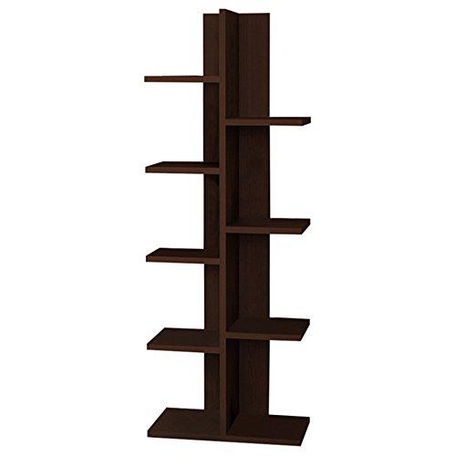 Bookcase 18' (Berlin Modern Bookcase 18'' x 48'' x 9'' / Shelving Unit / Bookshelf)