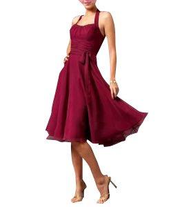 Robe de soiree couleur framboise