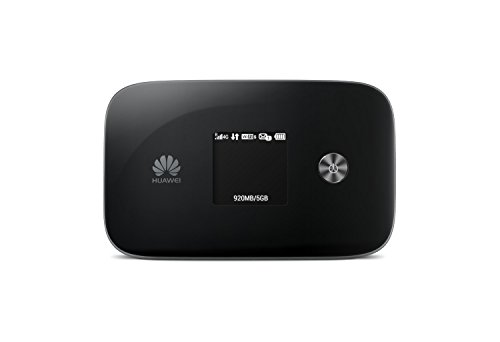 Huawei E5786s-32 300 Mbps 4G LTE & 43.2 Mpbs 3G Mobile WiFi (4G LTE in Europe, Asia, Middle East, Africa & 3G globally) (Black)