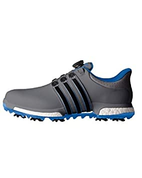 brand new fd6ff eb41d adidas Tour360 Boa Boost Wd, Men Golf shoes, Grey   Black   Blue,