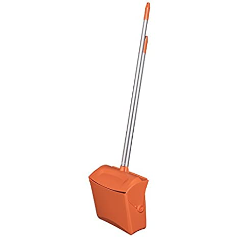 Remco 62509 Lobby Dustpan with Broom Polypropylene//Polyester//Aluminum 37 Handle 7 X 14 Bin Black 7 X 14 Bin 37 Handle Remco Products