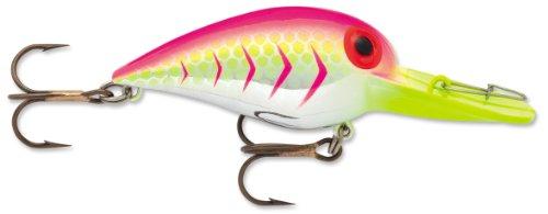Storm Orig Wig Wart 5 Fishing Lure, Blazing Pink UV, 2-Inch