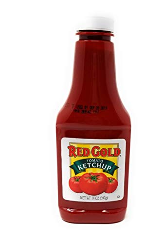 (Red Gold Tomato Ketchup, Squeeze Bottle  (Pack of 2))