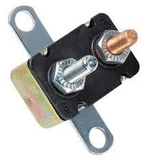 50a Type - Short Stop Circuit Breaker 50A Metal RT Bracket Type 1 12V (BP/CBC-50B-RP)