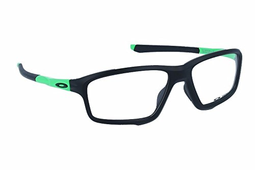 Oakley OO8076-05 Crosslink Zero Green Fade Collection - Olympic Games, Black/Green, 56mm, Eyewear - Womens Oakley Frames