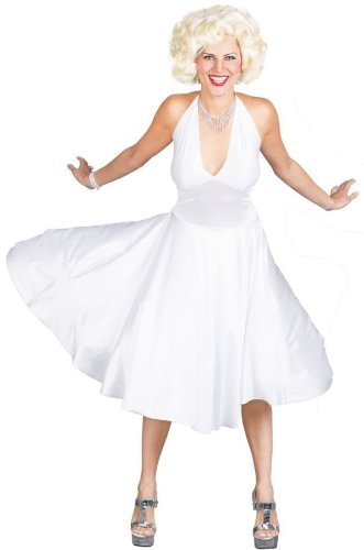 Halloween FX Marilyn Monroe Deluxe Costume - SD (6-8)