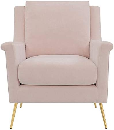 BOWERY HILL Fabric Upholstered Accent Chair