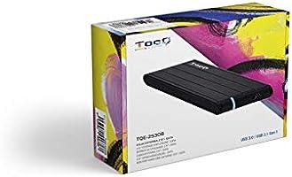 TooQ TQE-2530B - Carcasa para discos duros HDD de 2.5
