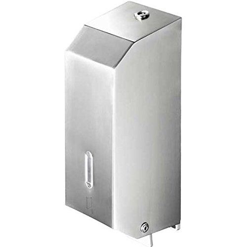 Soap Wall Mount Collection (Geesa 1216-638845340557 Standard Hotel Collection High End Brass Wall-Mount Hand Soap Dispenser, Chrome)