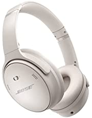 Bose QuietComfort 45 Headphones, White Smoke