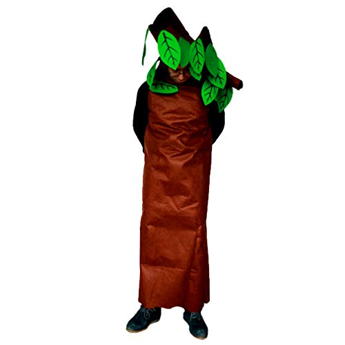zhbotaolang Unisex Child Tree Halloween Costumes Adult Fancy Dress (160-170CM) Brown