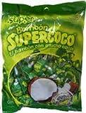 Supercoco Bombon Chupetas Caramelo Con Coco 384grs 5 Pack