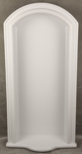 Henta Brava I Wall Niche DIY Recessed Mount Paintable ABS Plastic (White 40