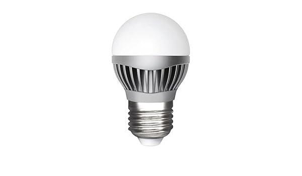 MATEL M285837 - Bombilla led e14 esferica 6w luz calida: Amazon.es: Hogar