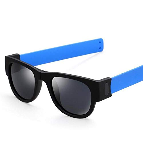 Creative Wristband Glasses Polarized Sunglasses Driving Goggles Snap Bracelet ()