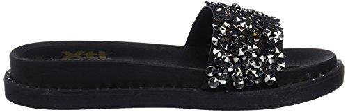 Noir Black Sandales 47961 Ouvert Xti Femme Bout f0qxg1