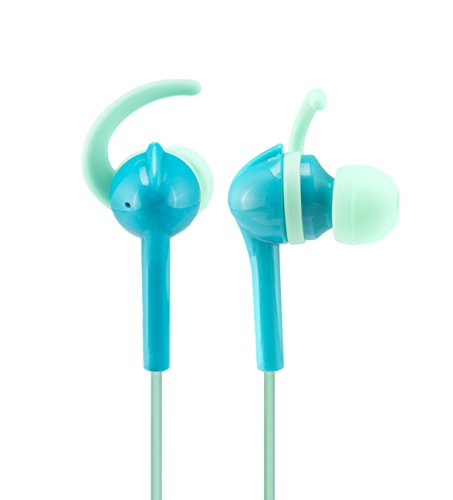 (Wicked Audio WI3352 Fang Anchor Fit Earbuds With Microphone -)
