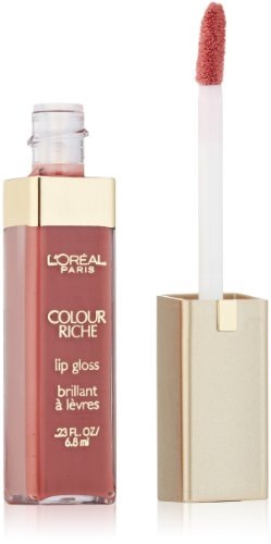 L'Oréal Paris Colour Riche Lip Gloss, Rich Rose, 0.23 fl. (Lip Color Rose)