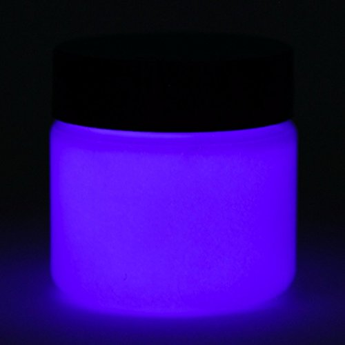 (Glow in The Dark Paint - Premium Artist's Acrylic - 1 Ounce (Neutral Dark Blue) - 5+ Colors)