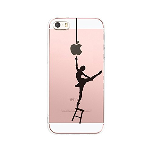 Iphone 5s Costume (HovisiTPU Silicone Case Back Cover Skin Protector for Iphone5/5s/SE (Color17))