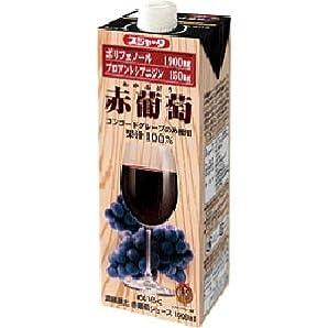 スジャータ  赤葡萄  1L ×6本入り