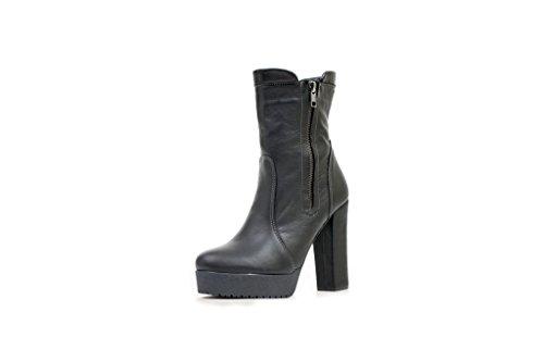 Tacco Alto N & K London, Stivali Da Donna E Ankle Boots Neri