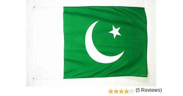AZ FLAG Bandera de PAKISTÁN 90x60cm - Bandera PAKISTANÍ 60 x 90 cm: Amazon.es: Hogar