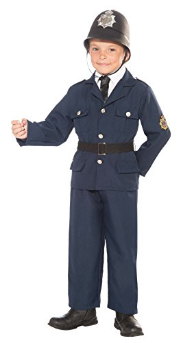 [Forum Novelties British Bobby Police Officer Child's Costume, Medium] (Policeman Uniform)