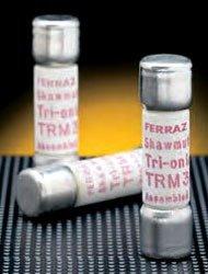 Mersen TRM10 Midget Non-Rejection Time Delay Fuse 10 Amp 250 Volt AC Tri-Onic