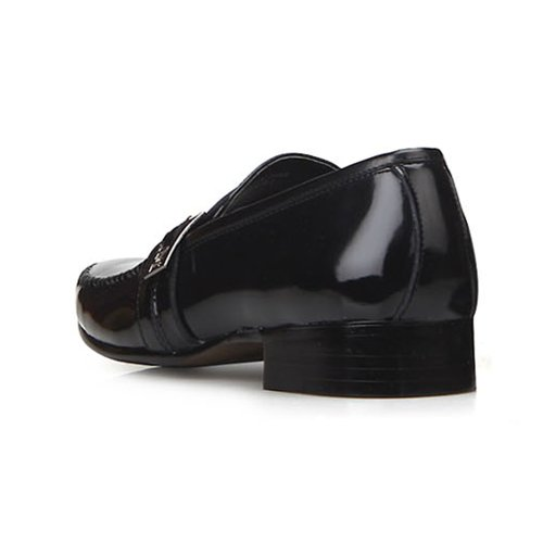 Nuovi Mocassini Eleganti In Pelle Nera Embio Da Uomo Slip On Shoes