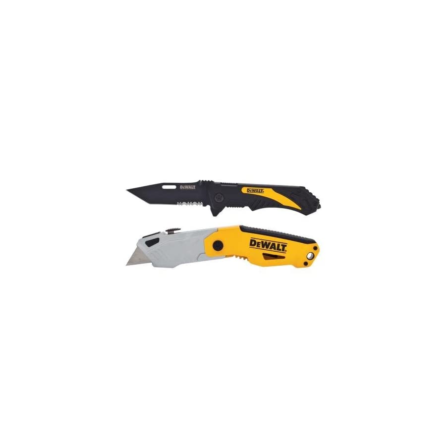 Dewalt Autoload Utility Knife and Pocket Knife Combo (2 piece)