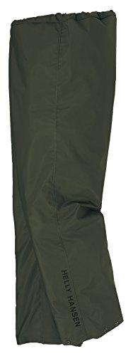 Helly Hansen Workwear Workwear Men's Mandal Rain Pant, Army Green, Large (High Viz Rain Suit)