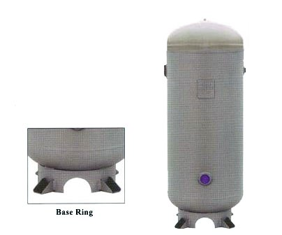 Manchester Tank Vertical Air Receiver 60 Gallon 200 PSI w...